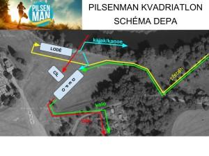 Pilsenman - kvadriatlon depo 2018